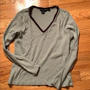 Boden long sleeve v-neck-M